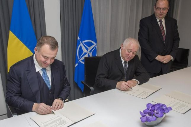 NATO's recent agreement with Ukraine sets a roadmap of defense priorities, including improving Ukraine's Armed Forces and modernizing the country's defense industry. Photo courtesy of NATO.