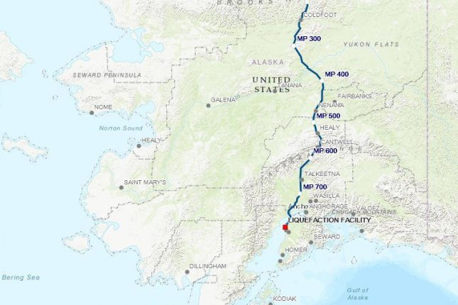 A Japanese company becomes the second possible Asian consumer to express interest in Alaskan LNG in less than a month. Map courtesy of Alaska Gasline Development Corp.