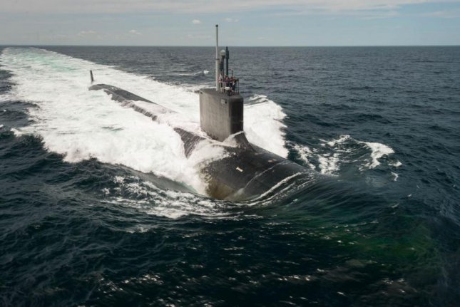 Leidos Inc. received a $72.8 million contract for work on a seafloor sonar system prototype. Photo courtesy of Huntington Ingalls industries/U.S. Navy/Chris Oxley