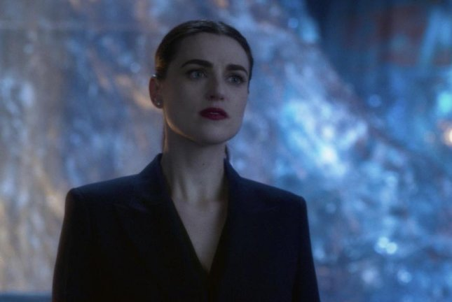 Katie McGrath said she hopes Lena Luthor learns to accept herself. Photo courtesy of The CW