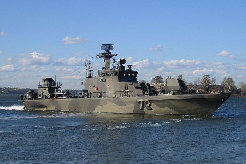 Finish Navy Ship FNS Porvoo. Photo by Tomisti/CC