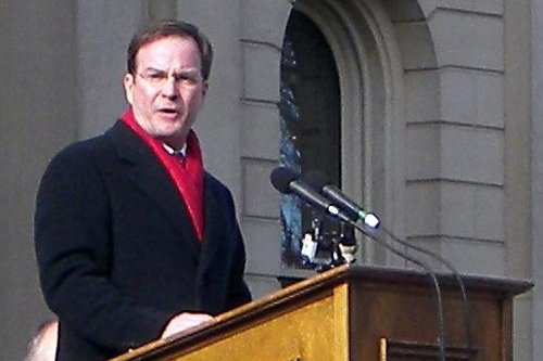 Michigan Attorney General Bill Schuette, seen here in 2011, named a former Flint-area county prosecutor to lead an investigation into the Flint water crisis. Photo by Aaron J. Baylis/CC