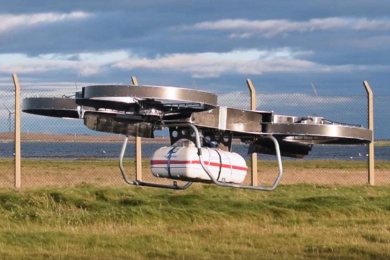 Army demos quadcopter resupply vehicle prototype