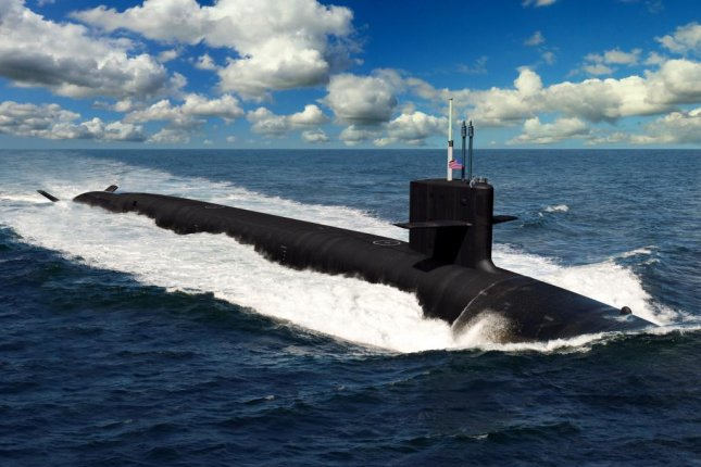 An artist rendering of the future U.S. Navy Columbia-class ballistic missile submarines. On Friday the Navy awarded$55.9M to General Dynamics to manufacture missile tubes for the submarines. Image courtesy of the U.S. Navy