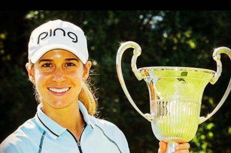 Australian golfer Sarah Jane Smith. (Sarah Jane Smith/Instagram)