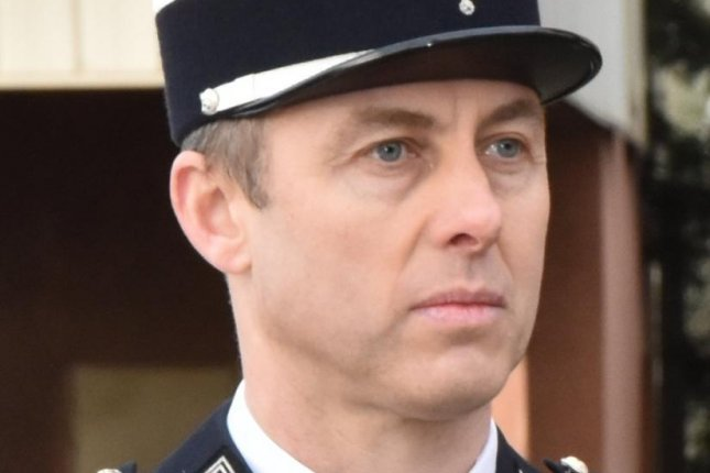 French police officer Arnaud Beltrame has died after being shot in what is believed to be a terrorism-inspired attack Friday. Photo courtesy of Gendarmeri Nationale/Twitter