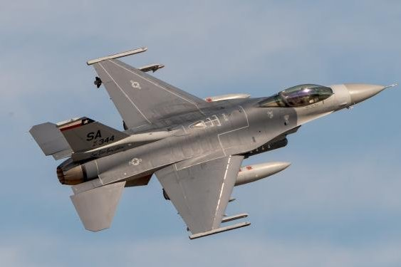 F-16 Fighting Falcon, which the Block 20 is a variant of. Photo courtesy of 75th Air Base Wing Public Affairs from the U.S. Air Force