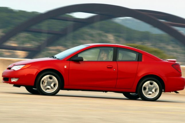The 2004 Saturn ION Quad Coupe is one of the cars being recalled. (Credit:GM)