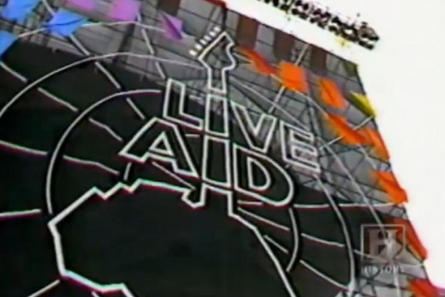 Live Aid, considered by many to be the biggest rock concert in world history, took place in Philadelphia and London on July 13, 1985, and reportedly raised more than $230 million for African famine relief. Photo: History Channel / AOL