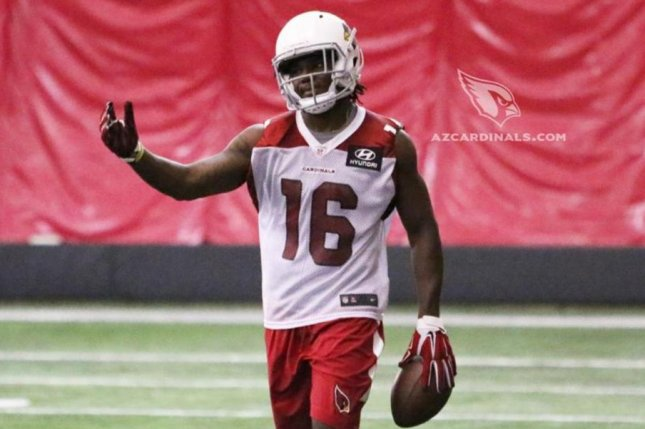 Arizona Cardinals wide receiver Chad Williams is expected to compete for snaps behind Larry Fitzgerald. Photo courtesy of the Arizona Cardinals/Twitter