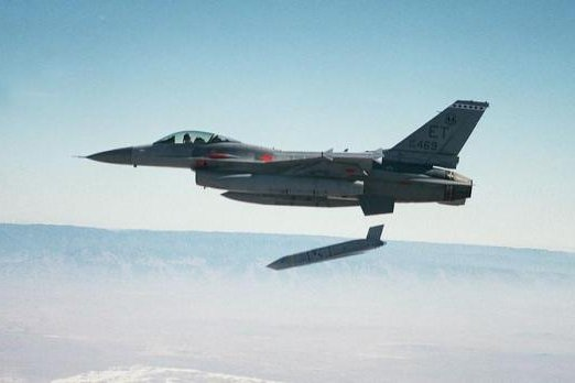 An F-16 launches a JASSM cruise missile. Photo courtesy of Lockheed Martin