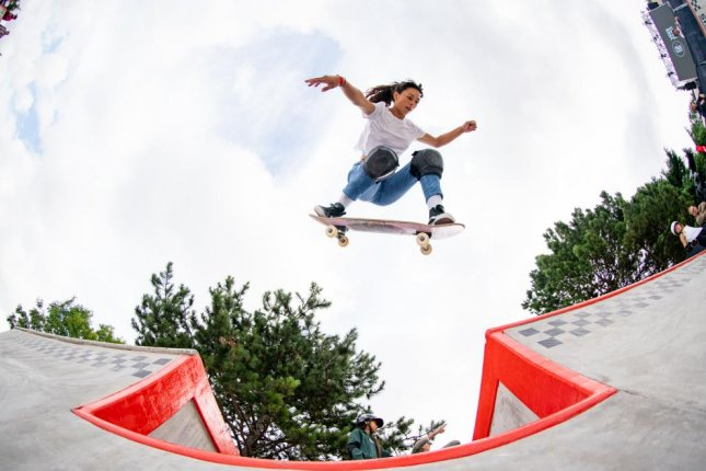 Lizzie Armanto is one of the top women's skateboarders in the world. She also is a dual citizen of the United States and Finland and will compete for Finland during the 2020 Summer Games in Tokyo. Photo courtesy of the Vans Park Series