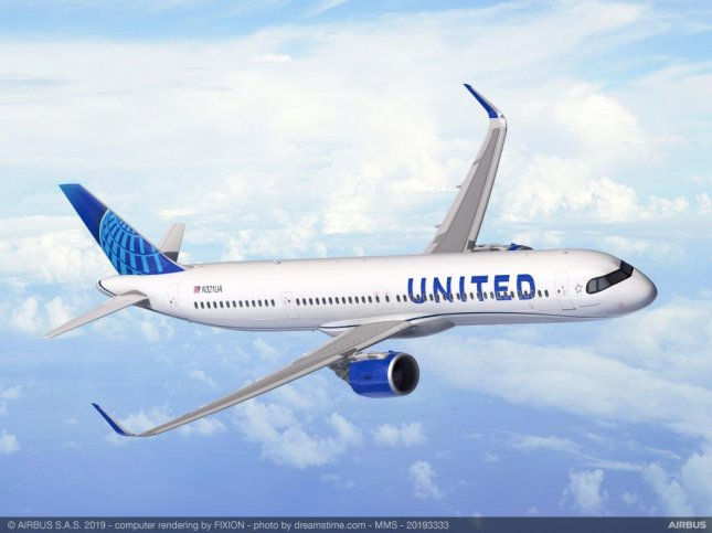 United Airlines has ordered 50 Airbus A321XLR aircraft. photo courtesy of Airbus/Website