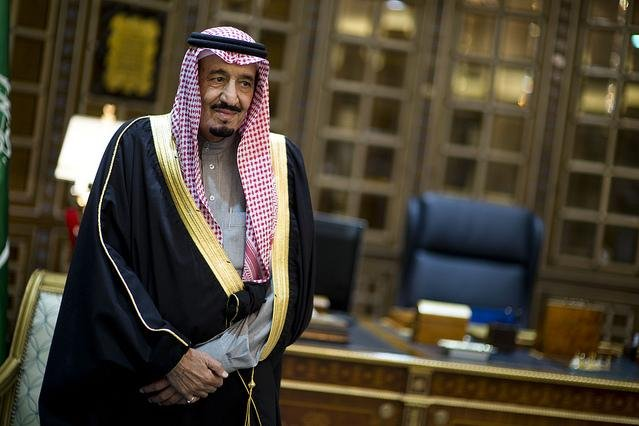 World leaders traveled to Saudi Arabia to meet King Salman, formerly Crown Prince Salman bin Abdulaziz Al Saud, pictured here in 2013 in Riyadh. Photo by Erin A. Kirk-Cuomo/U.S. Department of Defense