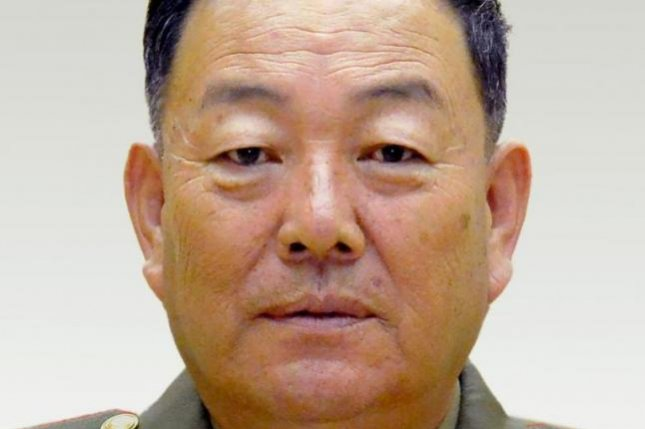 """Former North Korean Defense Minister Hyon Yong Chol often referred to Kim Jong Un as a """"young person, and made other remarks that factored into the North Korea's leader's decision to eliminate Hyon. Photo by Rodong Sinmun/Yonhap"""