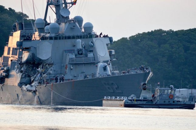 MS shipbuilder to fix USS Fitzgerald