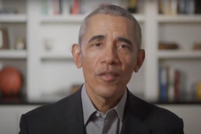 Former President Barack Obama presented a virtual commencement address to graduates of historically black colleges Saturday, the first of two such addresses delivered Satureday, Image via Chase/YouTube