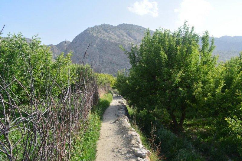 A footpath in Pakistan, near the Afghan border. (CC/Umer Malik)