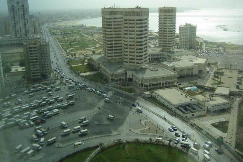 An aerial view of Tripoli, Libya in 2007. (Gary Denham/Flickr)