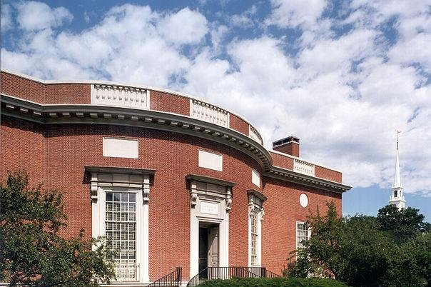 Houghton Library on Harvard Univesity's campus is shown. The university won a lawsuit Tuesday against plaintiffs accusing it of bias against admitting Asian Americans. Photo courtesy of Harvard University
