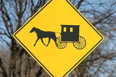 A third child died in a crash involving a pickup truck and a horse-drawn carriage. Photo courtesy Daniel Schwen/Wikimedia Commons