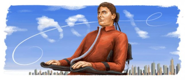 Saturday's Google Doodle honors late Christopher Reeve