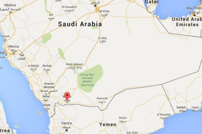 On Oct. 27, 2015, the Islamic State claimed responsibility for a suicide bombing that killed one person and injured a dozen others at a Shia mosque in the southwestern Saudi Arabian town of Najran. Google Maps image