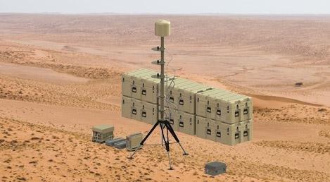SRC's Silent Archer counter-drone system. Photo: SRC.