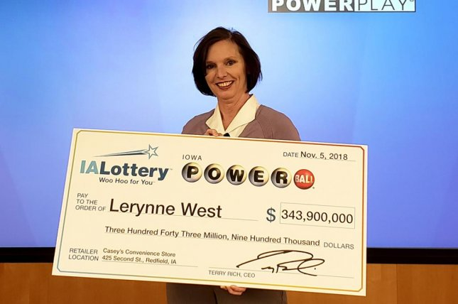 The winner of a $343.9 million Powerball jackpot said the ticket apparently fell out of her purse and was later found on the floor of her sister's pickup truck. Photo courtesy of the Iowa Lottery