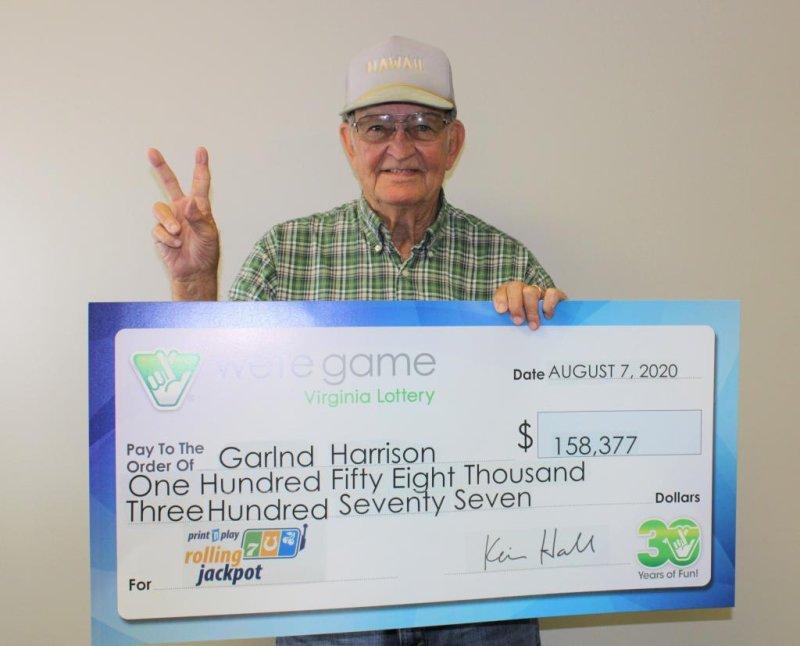 Sudden rain leads man to $158,377 lottery jackpot