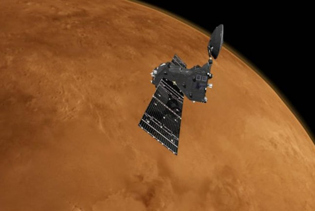 The Trace Gas Orbiter is ready to begin its scientific mission, said scientists at the European Space Agency. Photo by ESA