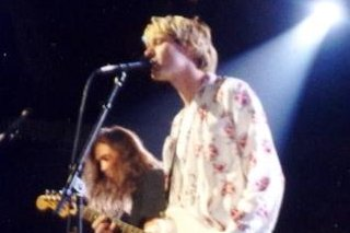 Kurt Cobain and Krist Novoselic Nirvana. The internet lit up with rumors that the investigation of Cobain's death was being reopened Thursday. (Credit/P.B. Rage from USA/ Wiki Commons)