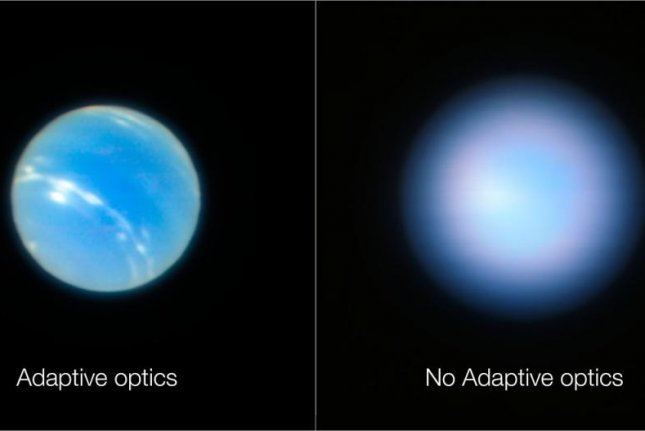 Very Large Telescope In Chile Captures Remarkably Sharp Images Of Neptune
