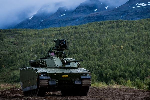 BAE Systems has teamed with Czech company VOP CZ in a contract bid for CV90 vehicles. Photo courtesy BAE Systems