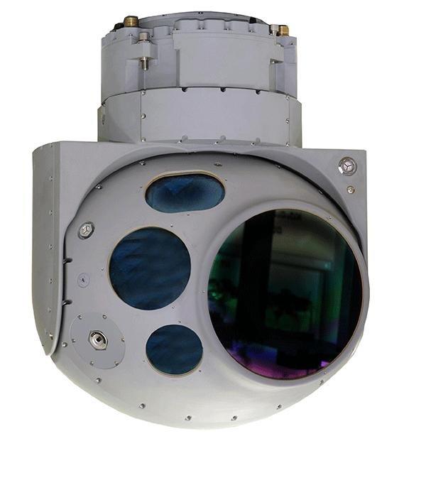 IAI's new MD-19HD electro-optical payload. IAI photo.