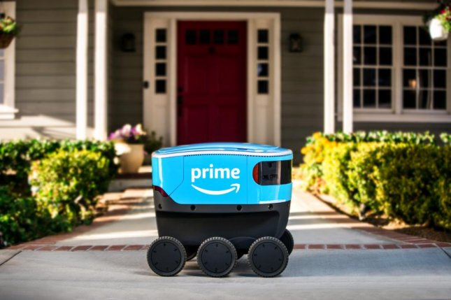 Amazon announced it would test deliveries using its Scout automated delivery devices in Washington beginning Thursday. Photo courtesy Amazon