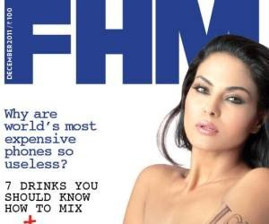 Screen-grab of FHM's December cover. For full photo visit FHMindia.com