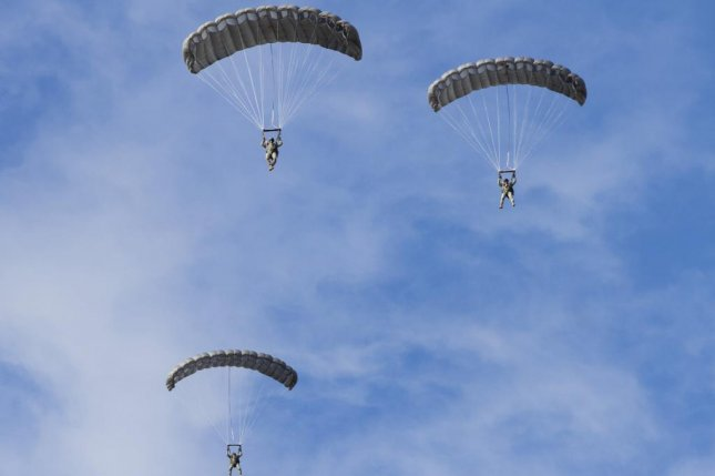 Airborne Systems North America has received a $99 million contract to purchase the RA-1 Advanced Ram air parachute system and spare parts. Shown here are soldiers testing the system in 2013. U.S. Army photo by Sgt. Cody Barber