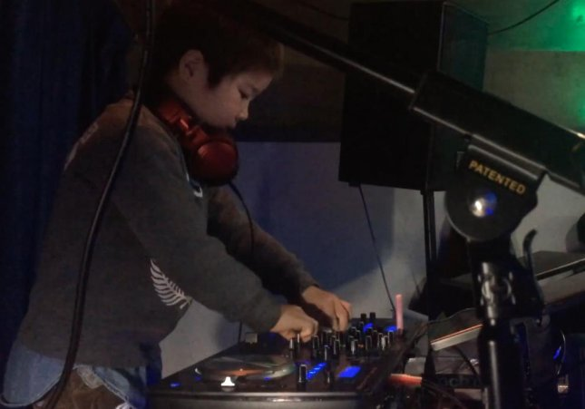 Itsuki Morita, a 6-year-old boy from Japan, became the world's youngest club DJ after playing an hour-long set for adults and other children.  Screen capture/Guinness World Records/YouTube