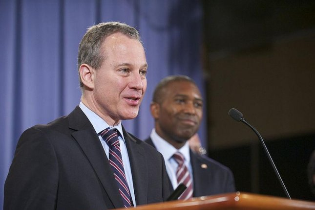 Eric Schneiderman called for renewed efforts to place curbs on high-frequency trading, while speaking at a symposium at New York University. (CC:Lonnie D Tague/USDOJ)
