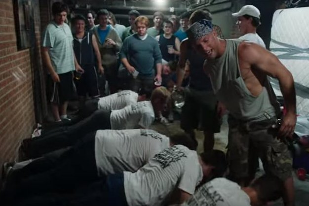A new trailer for the movie Goat shows the intensity fraternity pledges have to endure from upper classmen to get in to the testosterone-fueled clubs. Photo from Parmount Movies/YouTube