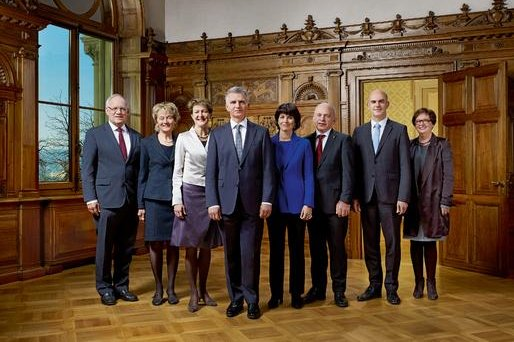 On Oct. 8, 2014, Switzerland's Federal Council (pictured) announced a ban on Islamic State membership and activities. (Swiss Government)