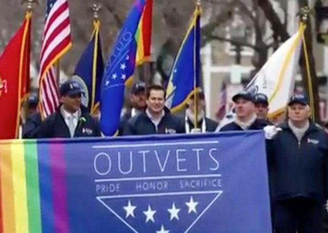 LGBT veterans group OUTVETS accepted an invitation to march in Boston's St. Patricks Day parade after a veterans council voted to bar them from participating earlier in the week. The group voted 11-0 in favor of allowing OUTVETS to march in a second meeting following backlash from area politicians.  Screen capture/Today Show/AOL