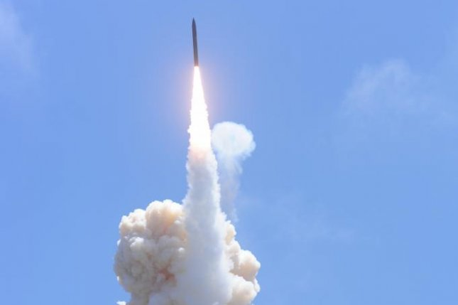 A new system from Raytheon will automatically assess the effectiveness of interceptor missile systems and other weapons in war game scenarios. U.S. Missile Defense Agency photo