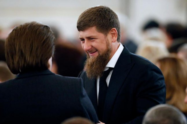 Chechen Republic leader Ramzan Kadyrov called Monday's coordinated attacks on Chechen police officers an attempt to disrupt to Eid-al-Adha holiday. One police officer was killed. File Photo by Yuri Kochetkov/EPA-EFE