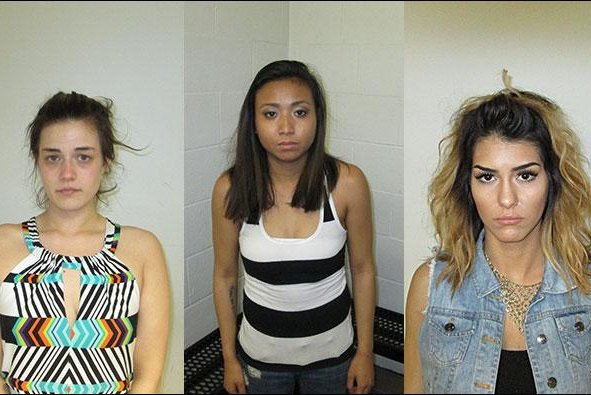 Brittany Medak (left), Leokham Yothsombath (center) and Coura Velazquez (right) (Credit: Beaverton Police Department)