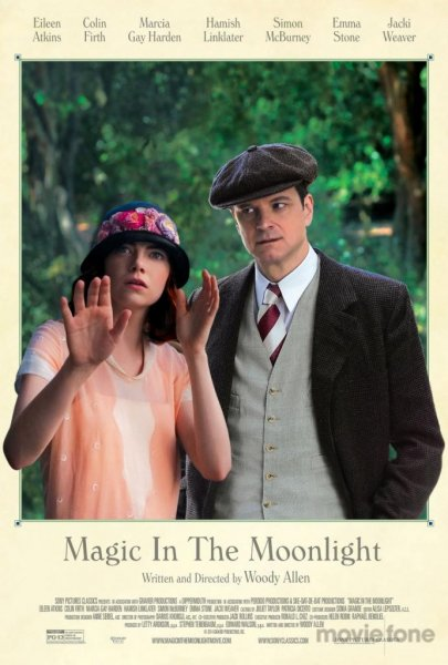 Emma Stone and Colin Firth in Woody Allen's 'Magic in the Moonlight.' (Sony Pictures Classics)