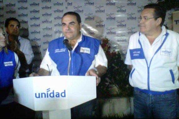Elias Antonio Saca, president of El Salvador from 1999 until 2004, was arrested on accusations of fraud and money laundering on Sunday during his son's wedding. Photo courtesy of Elias Antonio Saca