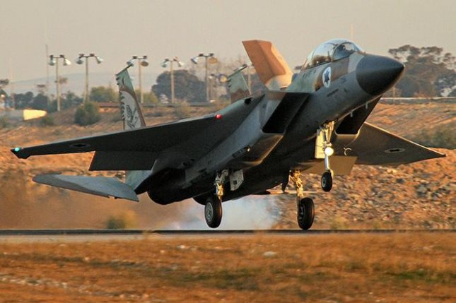 The Israeli Air Force operates a fleet of F-15 aircraft, including the F-15I, known as the Thunder. The model first landed in Israel in 1998. Photo courtesy of the Israeli air force
