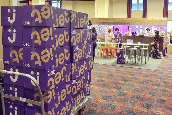 Jet.com launched Tuesday aiming to sell a host of products online. Photo by Jet.com/Twitter